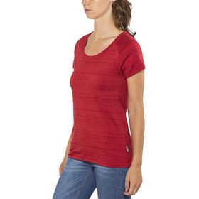 Elkline Marbella T-Shirt Women chilipepperred-red